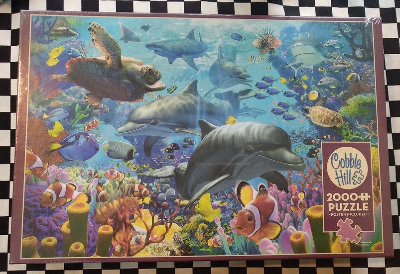 פאזל 2000 חלקים Coral Sea 89005