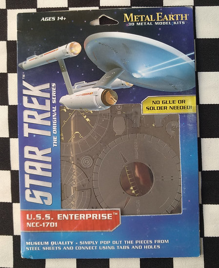 U.S.S. Enterprise NCC-1701 להרכבה