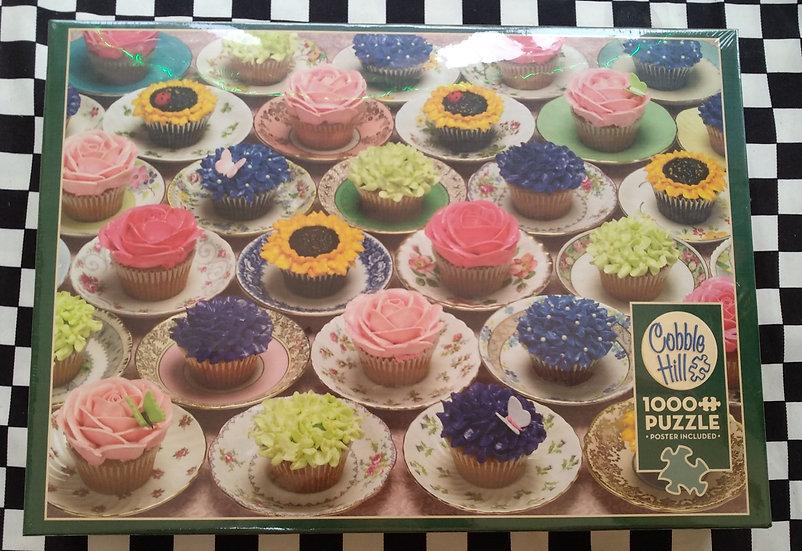 פאזל 1000 חלקים Cupcakes and Saucers
