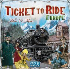 Ticket to Ride Europe עברית