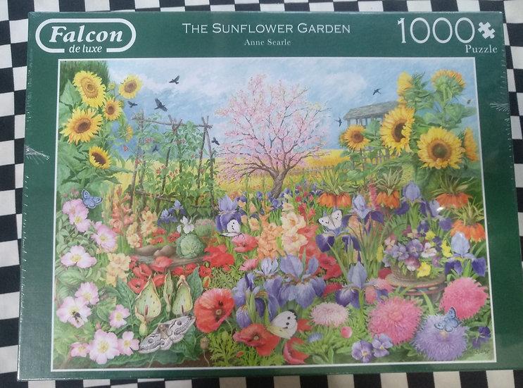 פאזל 1000 חלקים The Sunflower Garden