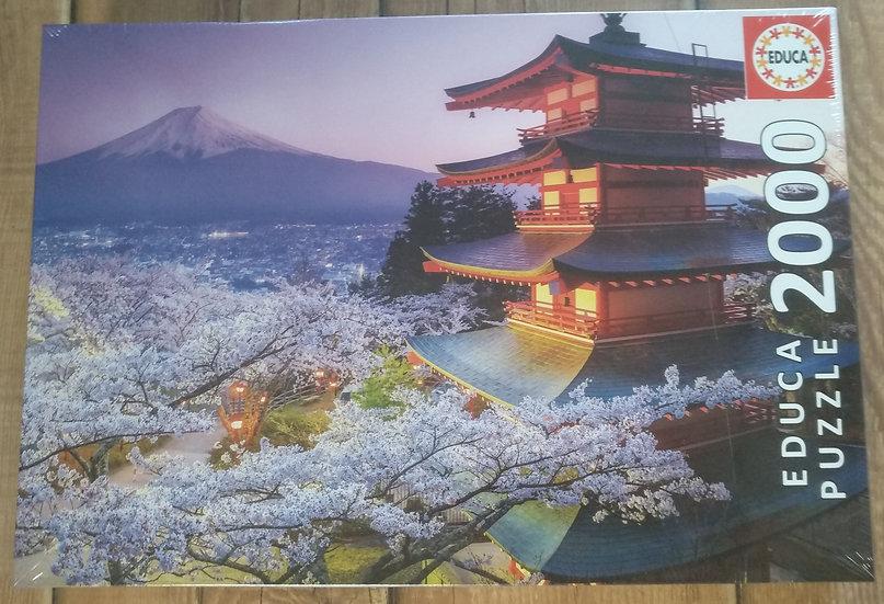 פאזל 2000 חלקים Mount Fuji, Japan