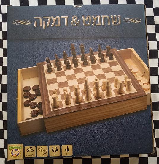 שחמט דמקה מגירות