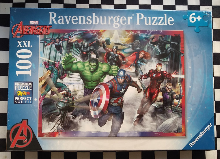 פאזל 100 חלקים The Avengers