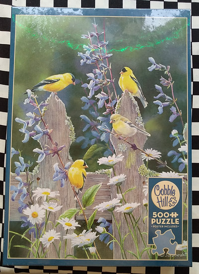 פאזל 500 חלקים Goldfinch Quartet