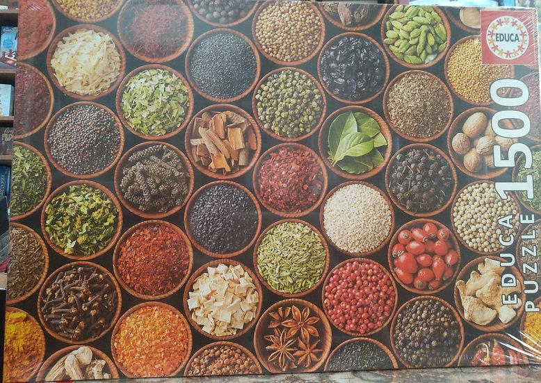 פאזל 1500 חלקים Herbs and spices