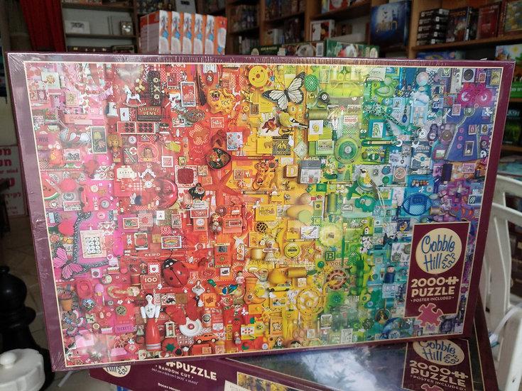 פאזל 2000 חלקים Rainbow 89003