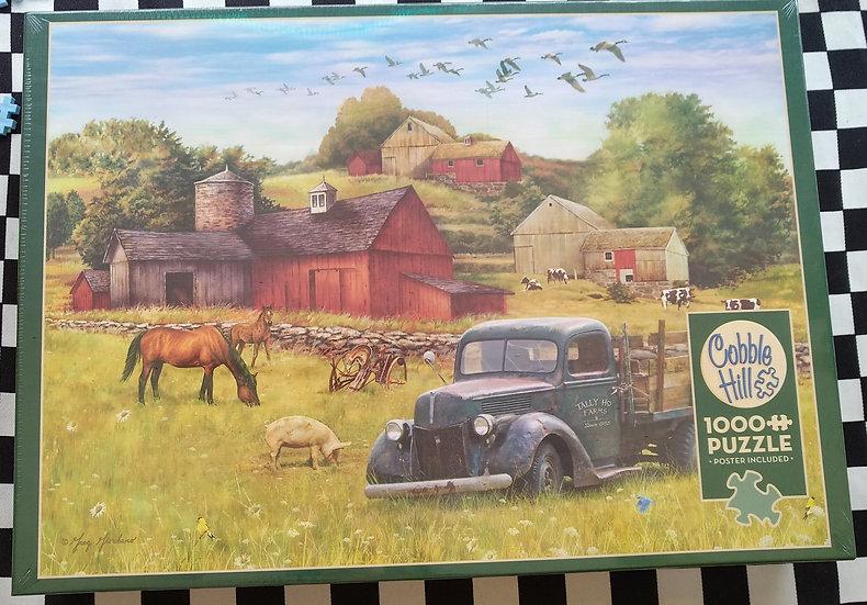 פאזל 1000 חלקים Summer Afternoon on the Farm