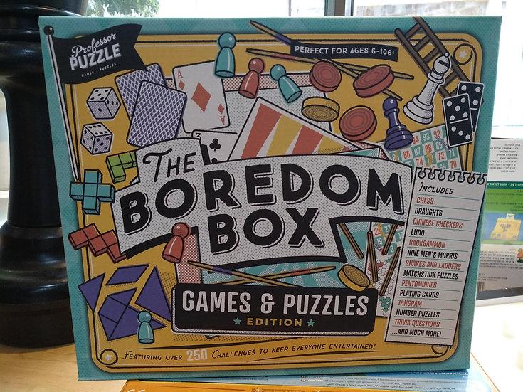 The boredom box קופסת השעמום