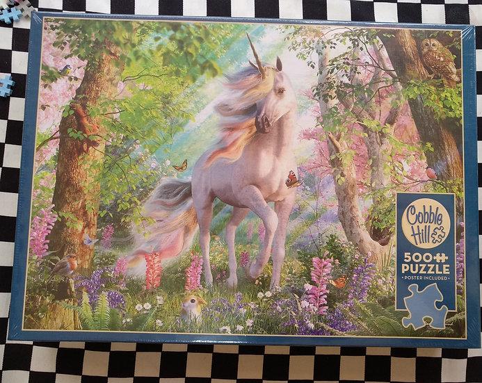 פאזל 500 חלקים Unicorn in the Woods