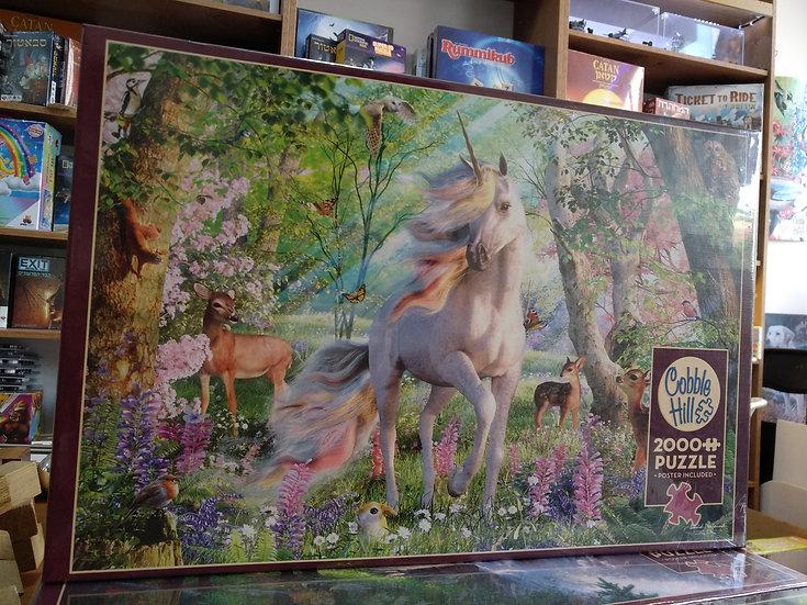 פאזל 2000 חלקים Unicorn and Friends 89016