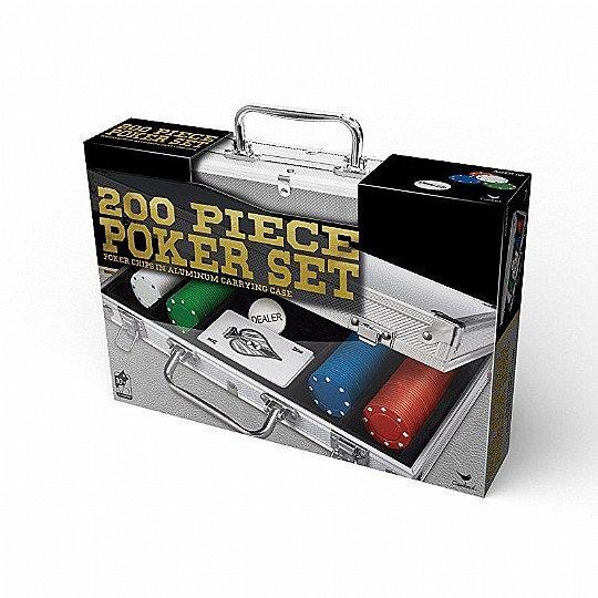 200 Piece Poker Set סט פוקר 200 חלקים