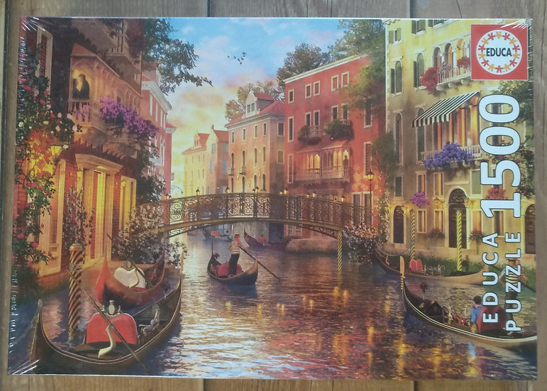 פאזל 1500 חלקים Sunset in Venice
