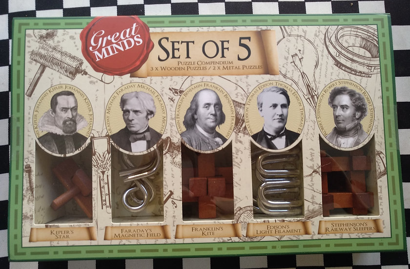 GreatMinds - Set of 5