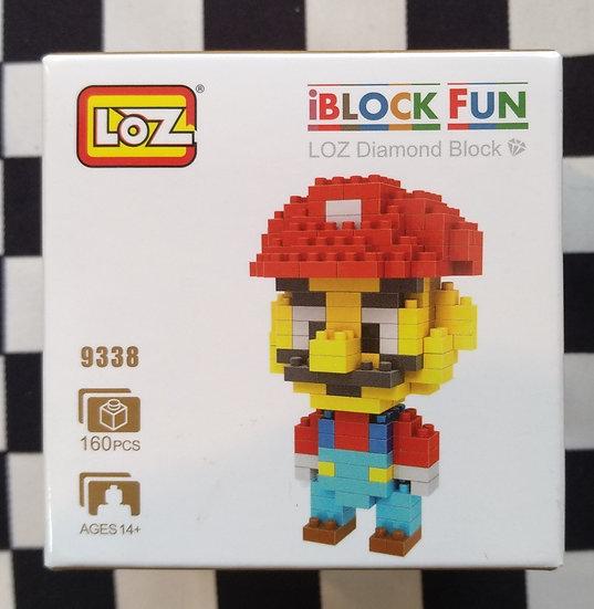 Loz 9338 פלסטיק 160 חלקים