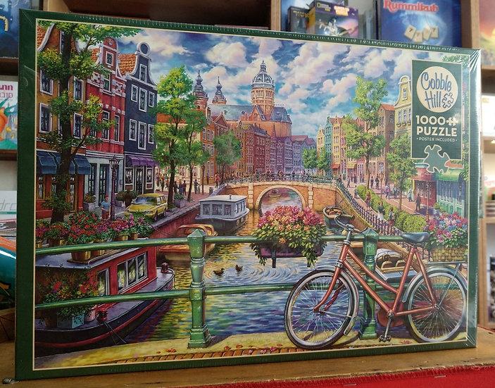 פאזל 1000 חלקים Amsterdam Canaal 80180