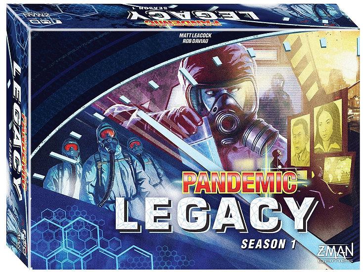 Pandemic Legacy season 1 (Blue)
