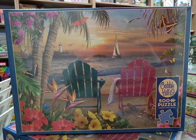 פאזל 500 חלקים Island Paradise 85077