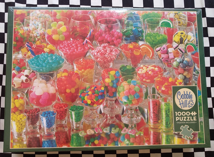 פאזל 1000 חלקים Candy Bar