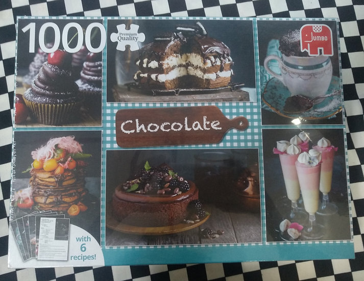 פאזל 1000 חלקים Chocolate + 6 recipes