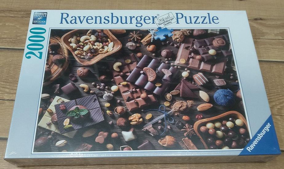 פאזל 2000 חלקים Chocolate Paradise