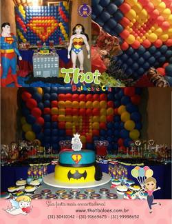 Facebook - Cenário Shirley Almeida Para Monika Alves, aniversário do Super Johan