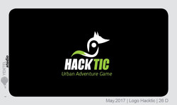 HackTic Logo Sketchs Fox 26 D&E