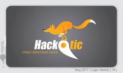 HackTic Logo Sketchs 19