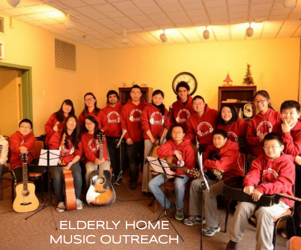 Bringing Music to Local Elderly Homes