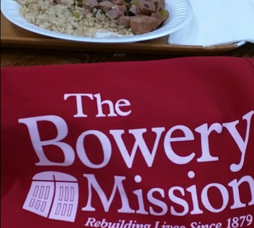 Weekday Morning Food Service at the Bowery Mission