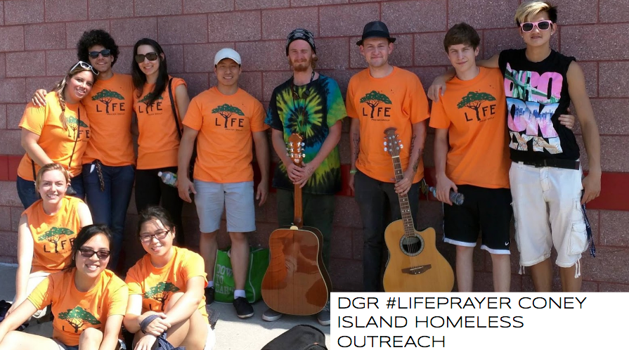 Music and Prayer Outreach to the Homeless in Coney Island