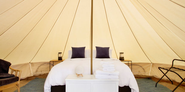 White Bell Tent