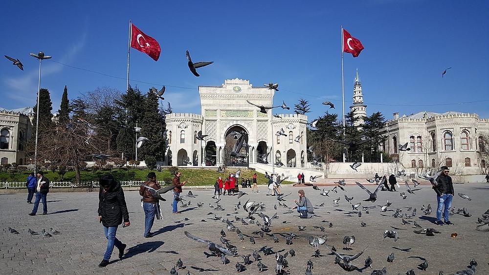 Turkish universities in Istanbul