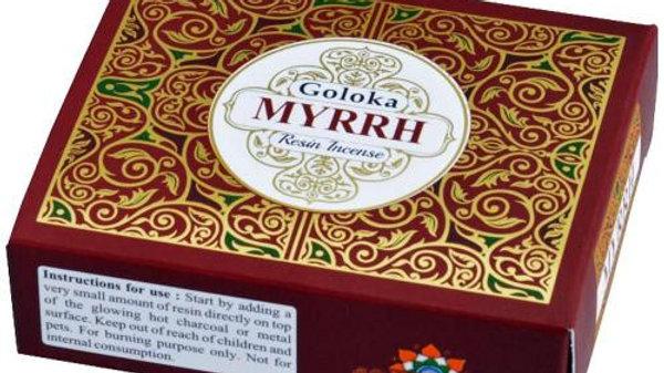 Goloka Myrrh Resin Incense 30g