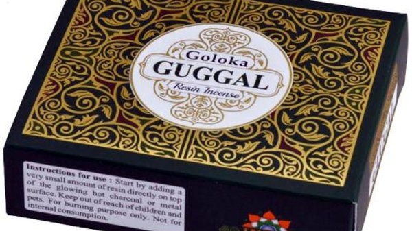 Goloka Guggal Resin Incense 30g
