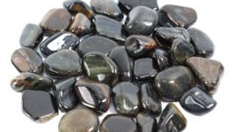 Blue Tigers Eye South African Shape 20-30mm