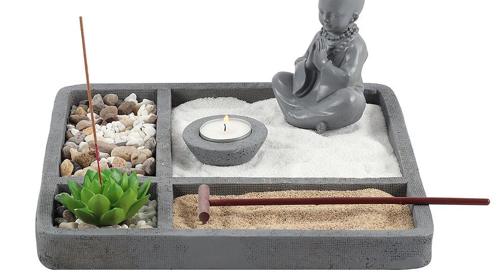 27cm Square Zen Meditation Garden