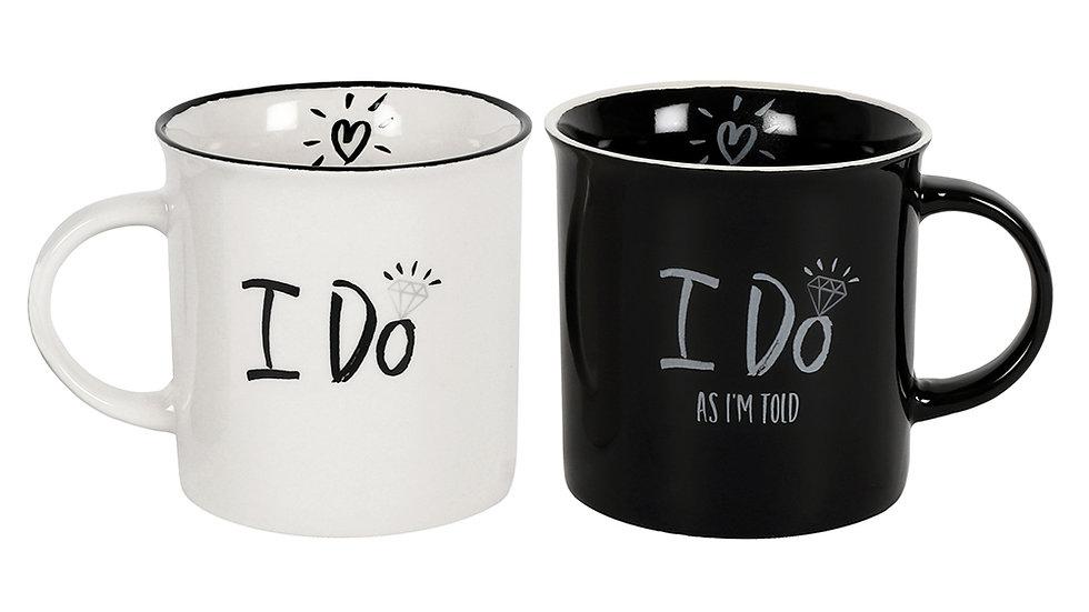I Do As I'm Told Mug Set