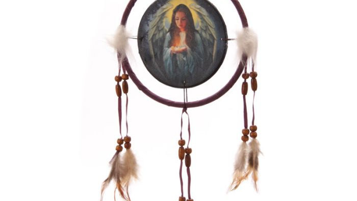 Dreamcatcher Print Lisa Parker Angel 16cm