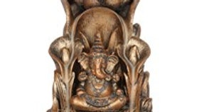 Bronze Ganesh Backflow Incense Burner