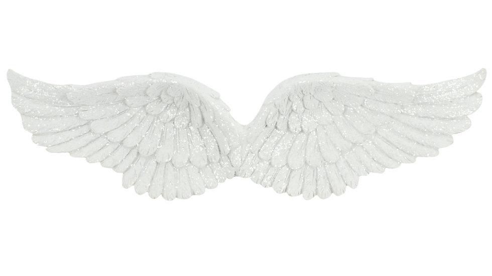 Glitter Hanging Angel Wings