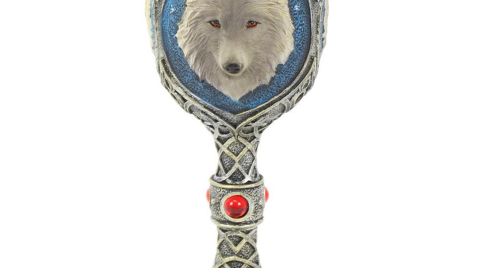 Resin Wolf Goblet