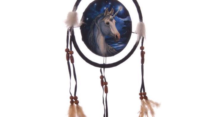 Lisa Parker Unicorn Dreamcatcher 16cm