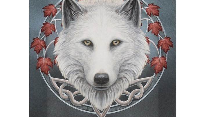 19X25CM GUARDIAN OF THE FALL CANVAS PLAQUE BY LISA PARKER