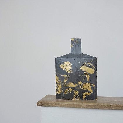 Botellón escultural medio hormigón colección Brann