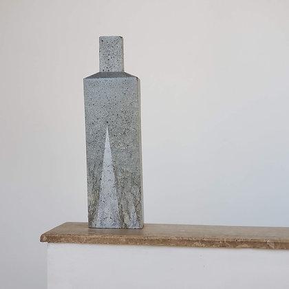 Botellón escultural mayor hormigón colección Torden