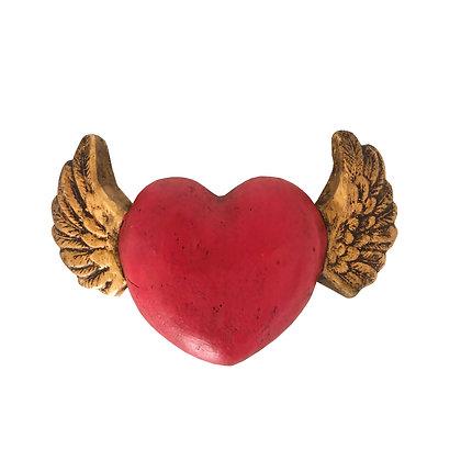 Corazón para colgar rojo