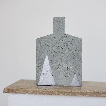 Botellón escultural medio hormigón colección Torden
