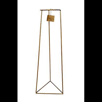 Porta macetero base triangular Ø22 H70 CM