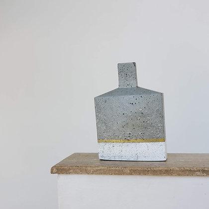 Botellón escultural medio hormigón colección Wolk